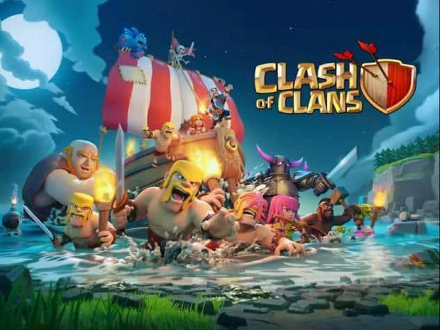 تحميل لعبة كلاش أوف كلانس clash of clans كاملة اخر تحديث 2018