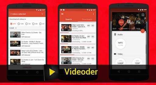 افضل برنامج videoder فيديودر تحميل الفيديو للاندرويد من اي موقع