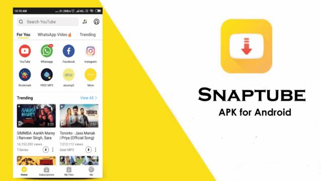 تحميل سناب تيوب SnapTube برنامج تحميل الفيديو للاندرويد 2019