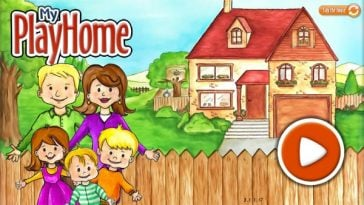 تحميل ماي بلاي هوم البيت مجانا Play Home Doll House APK